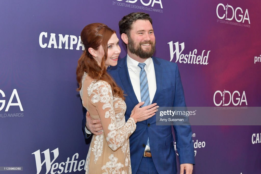 21st CDGA (Costume Designers Guild Awards) - Arrivals And Red Carpet : News Photo