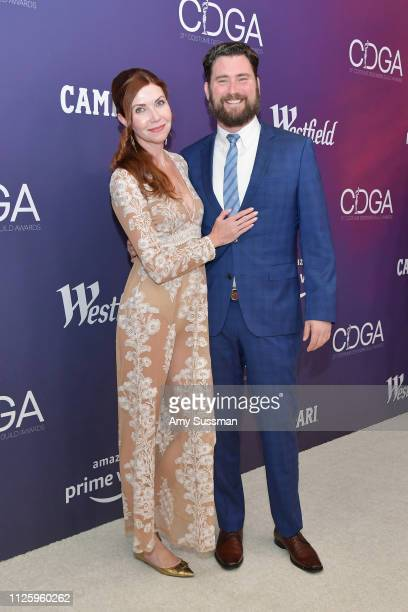 Rosie Maxhimer and Robert Maxhimer attend The 21st CDGA at The Beverly Hilton Hotel on February 19 2019 in Beverly Hills California