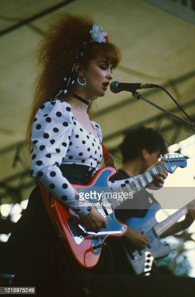 Rosie McGowan Strawberry Switchblade GLC Free Festival 4 August 1984 Brockwell Park