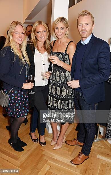 Rosie Nixon Chrissie Reeves Jenni Falconer and James Midgley attend the launch of designer and entrepreneur Tabitha Webb's first retail store...