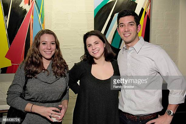 Rosie O'Connor Cara Trabucco and Dan Patrick attend FilmRise Celebrates new office in Industry City Brooklyn at FilmRise on February 25 2015 in...
