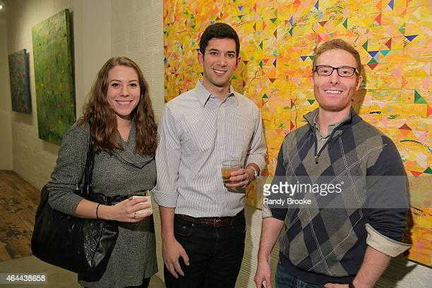 Rosie O'Connor Dan Patrick and Michael Lawson attend FilmRise Celebrates new office in Industry City Brooklyn at FilmRise on February 25 2015 in...