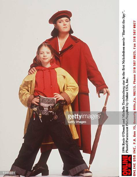 Rosie O''Donell and Michelle Trachtenberg star in the first Nickolodeon movie Harriet the Spy