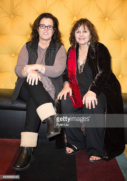 """Rosie O'Donnell and Filmmaker Leslee Udwin attend """"India's Daughter"""" New York Premiere at Village East Cinema on October 23, 2015 in New York City."""