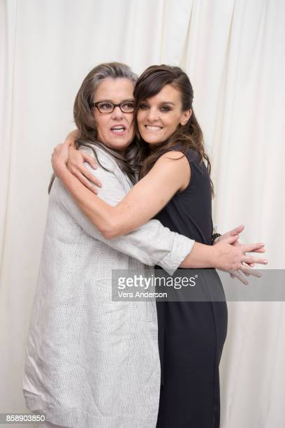 Rosie O'Donnell and Frankie Shaw at the 'SMILF' Press Conference at the SLS Hotel on October 6 2017 in Beverly Hills California