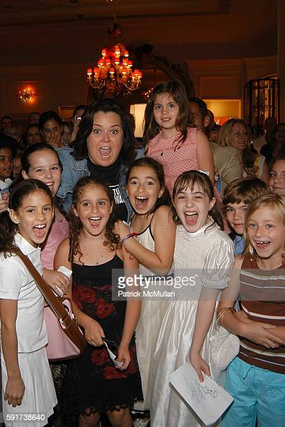 Rosie O'Donnell and Girls attend Madonna Childrens Book Lotsa de Casha published by Callaway Arts and Entertainment at Bergdorf Goodman on June 7...