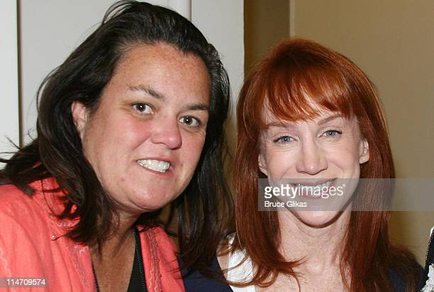 Rosie O'Donnell and Kathy Griffin during Rosie O'Donnell performs on R Family Vacations 3rd Annual Cruise to Alaska July 12 2006 at The Norwegian...