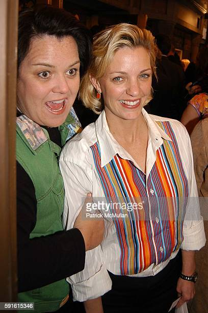 "Rosie O'Donnell and Kelly O'Donnell attend ""Sweet Charity"" opens on Broadway at The Al Hirschfield Theatre on May 4, 2005 in New York City."