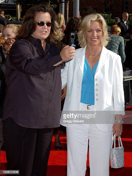 Rosie O'Donnell and Kelly O'Donnell during 58th Annual Creative Arts Emmy Awards - Arrivals at Shrine Auditorium in Los Angeles, California, United...