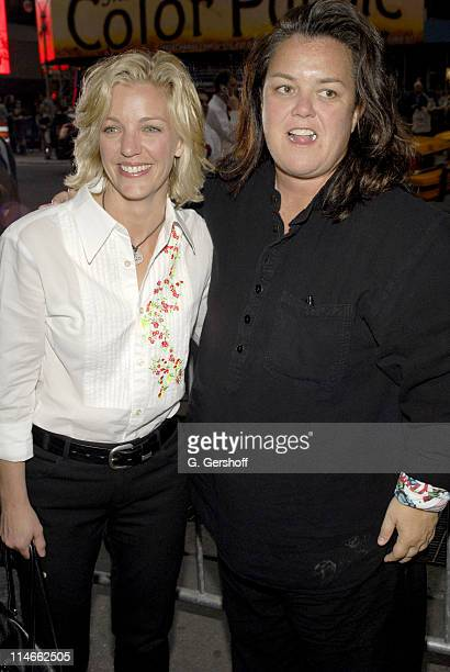 Rosie O'Donnell and Kelly O'Donnell during Opening and After-Party for Lestat with Elton John & Bernie Taupin at The Palace Theatre & Time Warner...