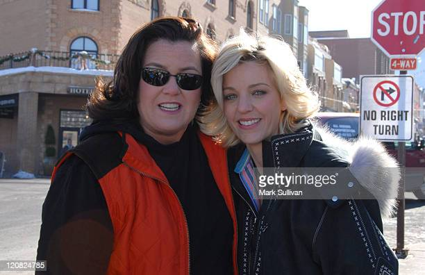 Rosie O'Donnell and wife, Kelly O'Donnell during 2006 Park City - Seen Around Town - Day 6 in Park City, Utah, United States.