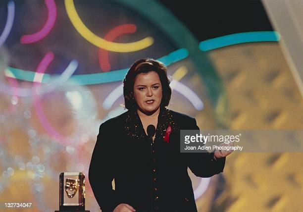 Rosie O'Donnell at the American Comedy Award on February 9 1997 at the Shrine Auditorium in Los Angeles California