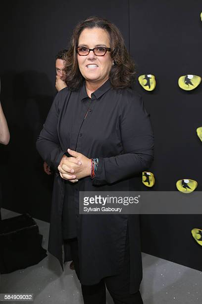 """Rosie O'Donnell attends Andrew Lloyd Webber's Iconic Musical """"CATS"""" Opening Night at Neil Simon Theatre on July 31, 2016 in New York City."""
