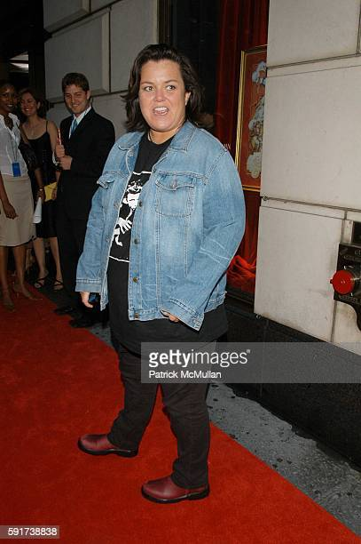 Rosie O'Donnell attends Lotsa De Casha childrens book by Madonna Red Carpet Arrivals at Bergdorf Goodman NYC USA on June 7 2005