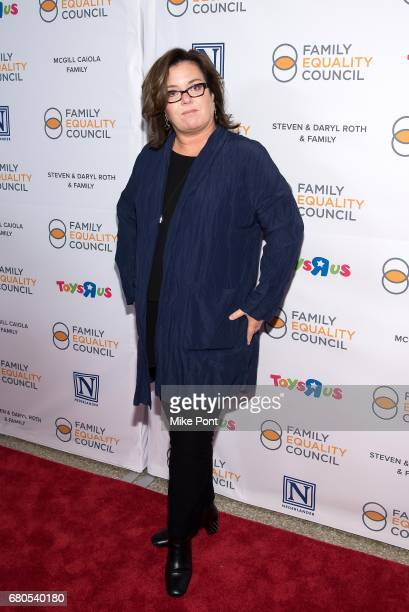 Rosie O'Donnell attends the 2017 Family Equality Council's Night at The Pier at Pier Sixty at Chelsea Piers on May 8 2017 in New York City