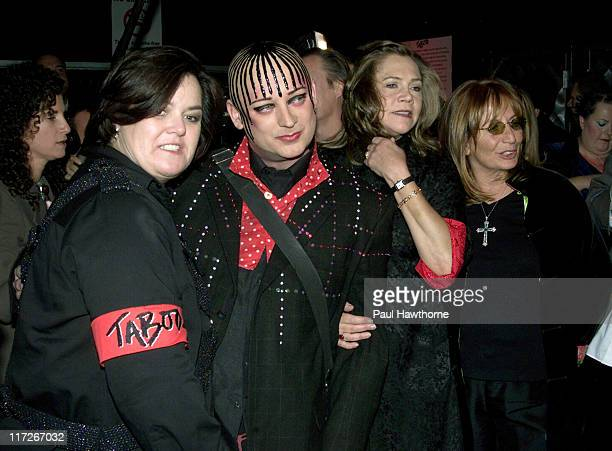 Rosie O'Donnell Boy George Kathleen Turner and Penny Marshall