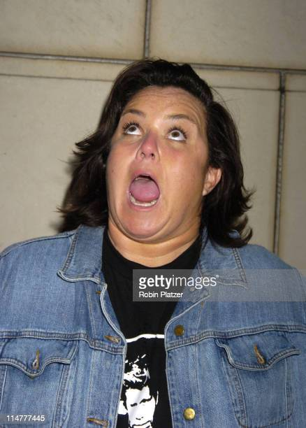 """Rosie O'Donnell during """"Lotsa de Casha"""" by Madonna Book Launch Party at Bergdorf-Goodman in New York - June 7, 2005 - Outside Arrivals at..."""