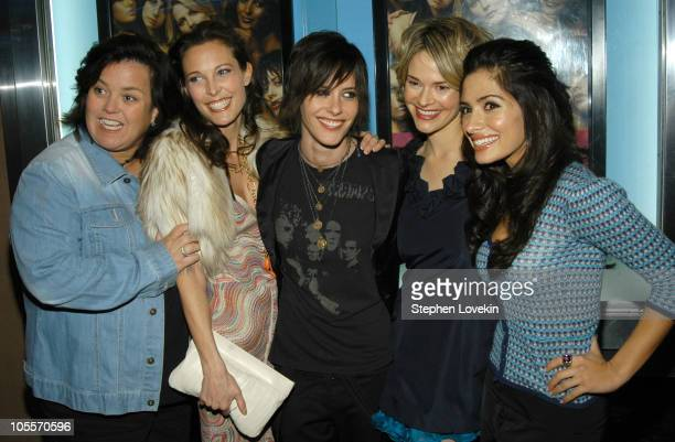 Rosie O'Donnell Erin Daniels Katherine Moennig Leisha Hailey and Sarah Shahi