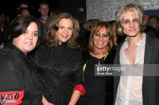 Rosie O'Donnell Kathleen Turner Penny Marshall and Jeffrey Carlson