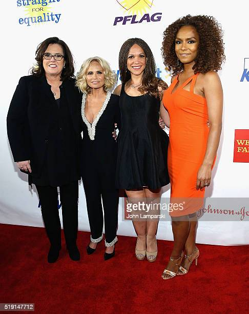 Rosie O'Donnell Kirstin Chanoweth Melissa HarrisPerry and Janet Mock attend PFLAG National's Eighth Annual Straight For Equality Awards Gala at The...