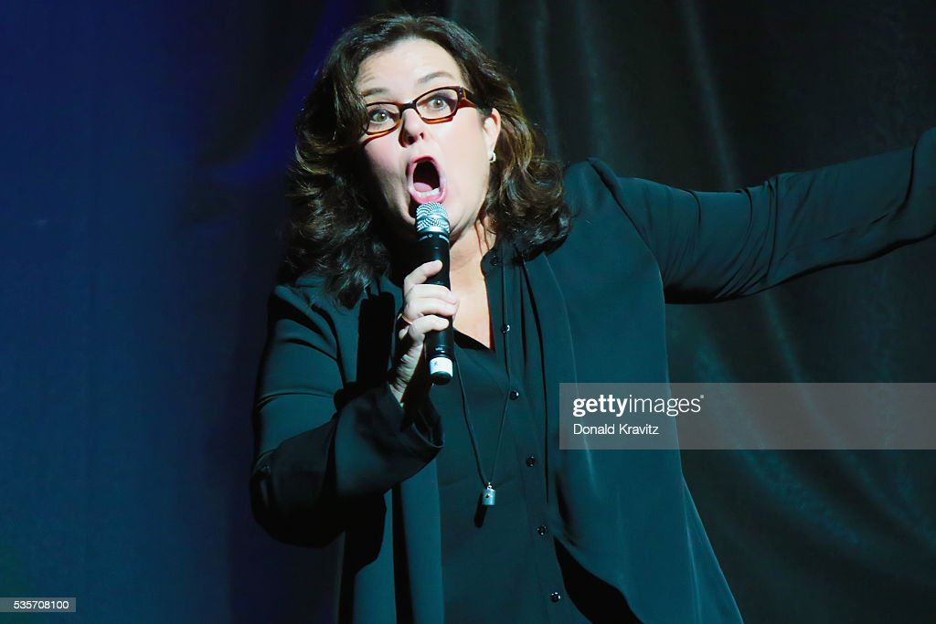 Rosie O'Donnell performs as part of the Cyndi Lauper & Boy George In Concert with guest Rosie O'Donnell at The Borgota Hotel Casino & Spa on May 29, 2016 in Atlantic City, New Jersey.