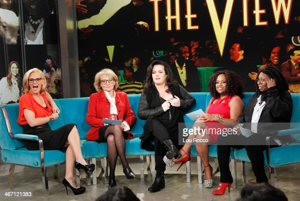 THE VIEW Rosie O'Donnell returns to THE VIEW to a standing ovation FRIDAY FEB 7 airing on the Walt Disney Television via Getty Images Television...