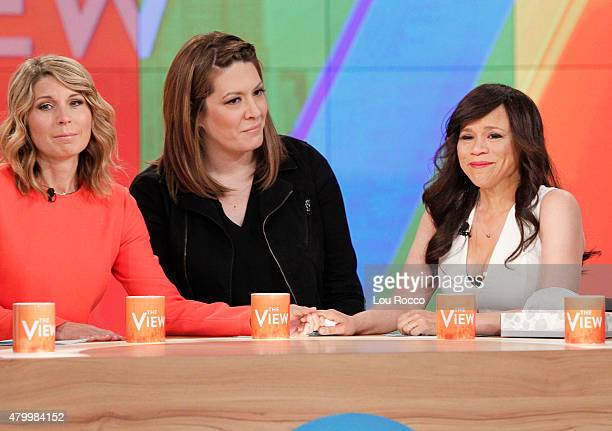 THE VIEW Rosie Perez addresses her departure from the show at the end of the season today Wednesday July 8 2015 on Walt Disney Television via Getty...