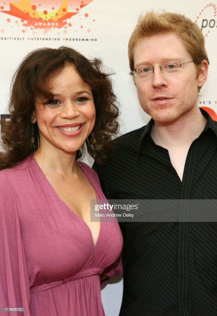 Rosie Perez and Anthony Rapp, Host during 5th Annual Cable Positive Pop Awards - Arrivals at IFC Center in New York, New York, United States.