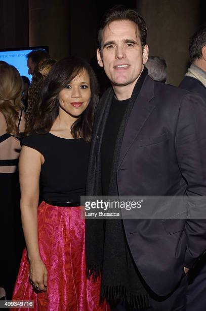 Rosie Perez and Matt Dillon attend the 25th IFP Gotham Independent Film Awards cosponsored by FIJI Water at Cipriani Wall Street on November 30 2015...