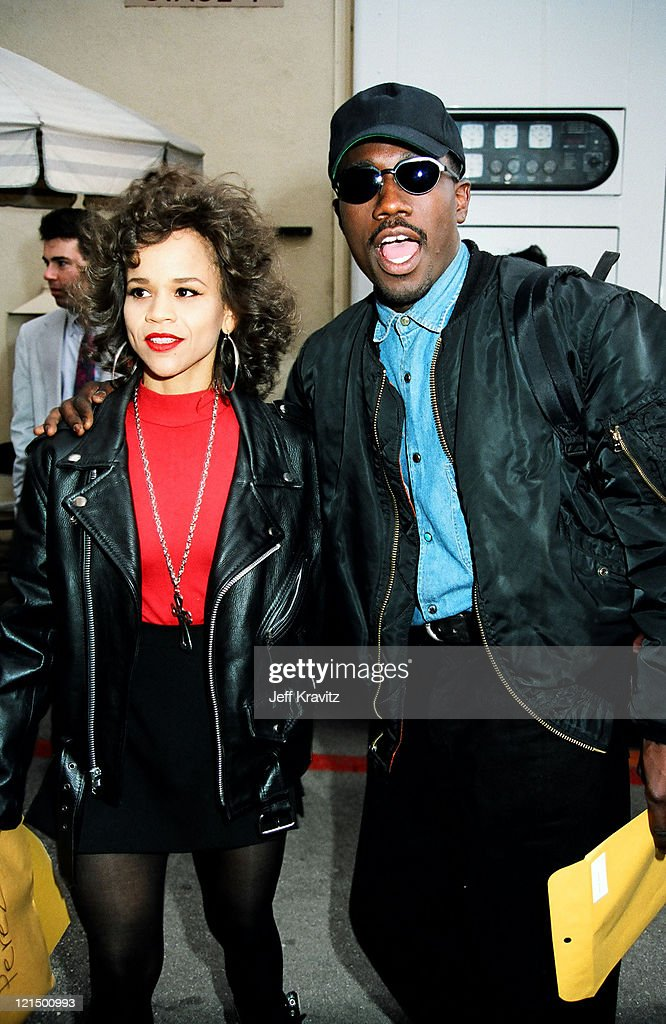 Rosie Perez and Wesley Snipes