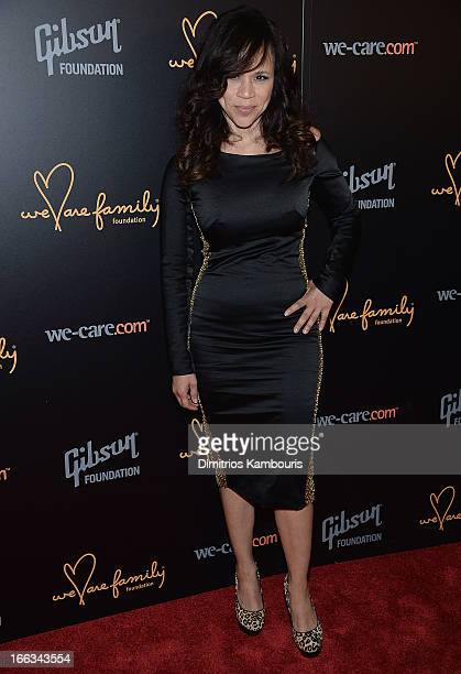 Rosie Perez attends the 0213 We Are Family Honors Gala at Manhattan Center Grand Ballroom on April 11 2013 in New York City