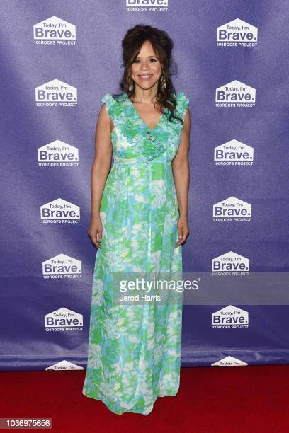 Lola Wayne Villa attends the 100 Roofs Gala at Conga Room on September 20 2018 in Los Angeles California