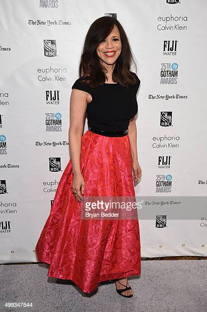 Rosie Perez attends the 25th IFP Gotham Independent Film Awards cosponsored by FIJI Water on November 30 2015 in New York City