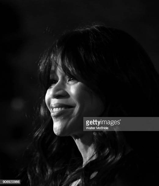 Rosie Perez attends the Casting Society of America's 33rd annual Artios Awards at Stage 48 on January 18 2018 in New York City