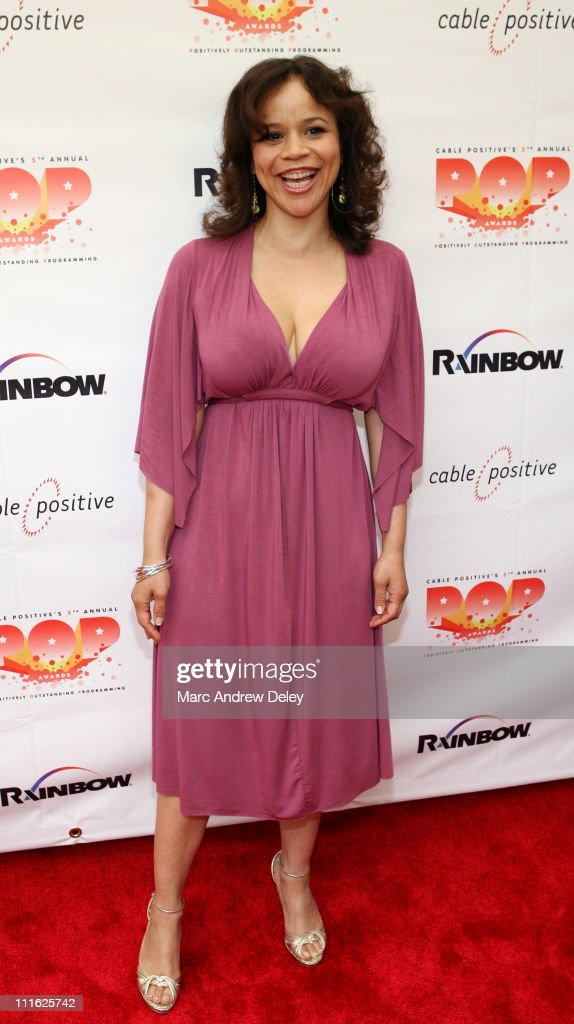 Rosie Perez during 5th Annual Cable Positive Pop Awards - Arrivals at IFC Center in New York, New York, United States.