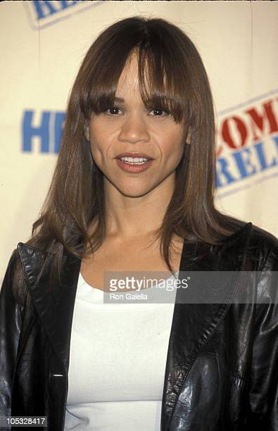 Rosie Perez during Comic Relief VIII at Radio City Music Hall in New York City New York United States