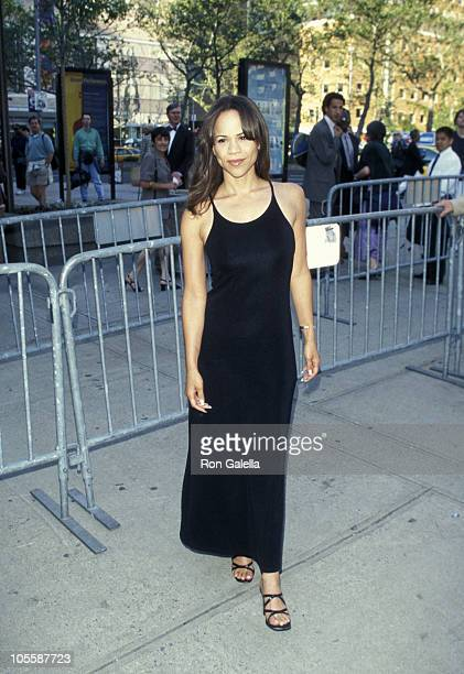 Rosie Perez during Premiere of Francesco Rosi's The Truce at Alice Tully Hall Lincoln Center in New York City New York United States