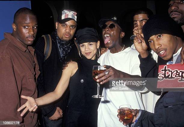 Rosie Perez Fredro Starr of Onyx and guests