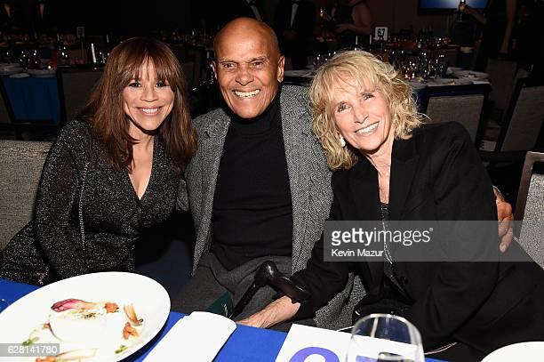 Rosie Perez, Harry Belafonte, and Pamela Frank attend RFK Human Rights' Ripple of Hope Awards Honoring VP Joe Biden, Howard Schultz & Scott Minerd in...