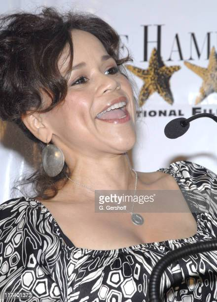 Rosie Perez, host during 14th Annual Hamptons International Film Festival - Industry Toast to Ted Hope at East Hampton Point in East Hampton, New...