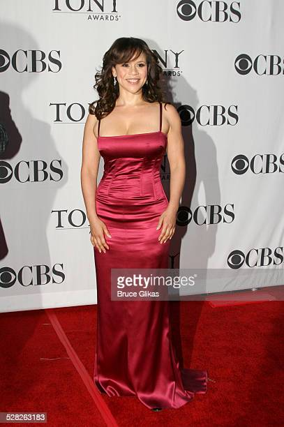 Rosie Perez presenter during 60th Annual Tony Awards Arrivals at Radio City Music Hall in New York City New York United States