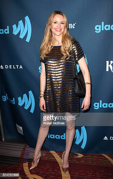 Rosie Pope attending the 24th Annual GLAAD Media Awards at the Marriott Marquis Hotel in New York City on 3/16/2013