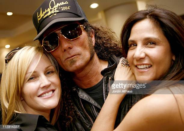 Rosie Rains Richard Stark and Laurie Stark during Grand Opening of Optical Shop of Aspen in Malibu March 15 2007 at Optical Shop of Aspen in Malibu...
