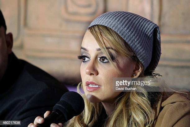 Rosie Rivera attends the Jenni Rivera posthumously honored on Plaza Mexico's Walk of Fame at Plaza Mexico on December 9 2014 in Los Angeles California