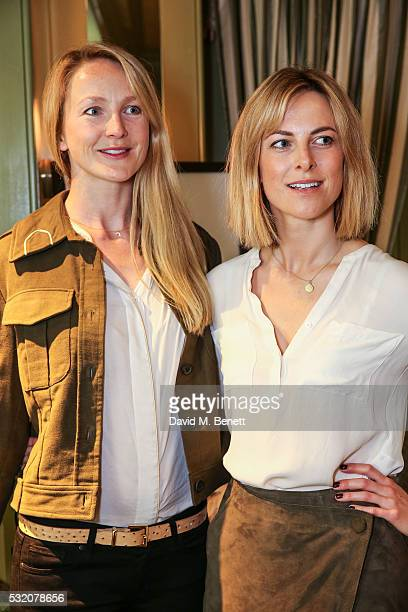 Rosie Ruck Keene and Lucia Ruck Keene attend TROY London founders host VIP breakfast to celebrate their Summer Collection and Preview Winter...