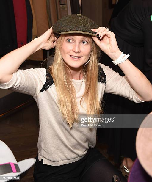 Rosie Ruck Keene attends the annual London Luxe Christmas Cocktail at Belgraves Hotel on November 17 2015 in London England