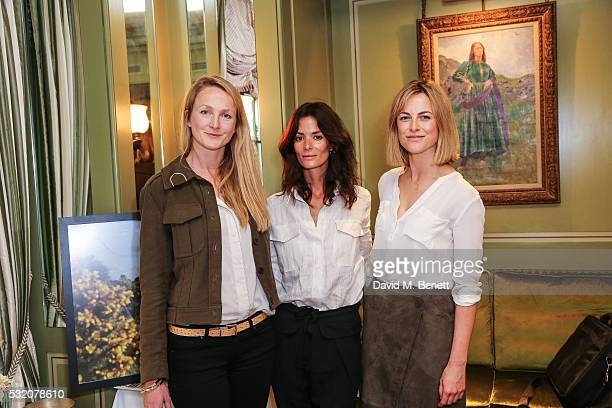 Rosie Ruck Keene Hedvig Opshang and Lucia Ruck Keene attends TROY London founders host VIP breakfast to celebrate their Summer Collection and Preview...