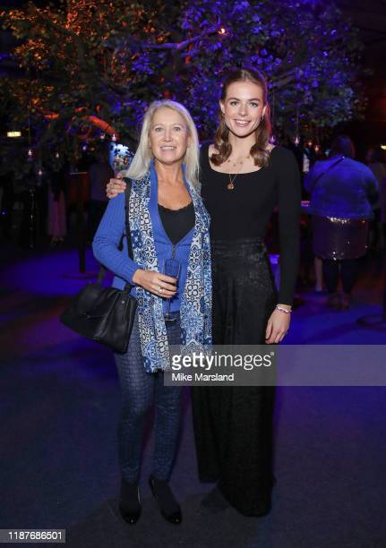 Rosie Tapner and Clea Newman attend the SeriousFun Children's Network Campfire Bash on November 14 2019 in London England