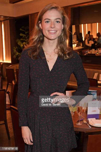 Rosie Tapner attends a lunch hosted by Amanda Staveley for 'Wellbeing Of Women', Britain's foremost female health charity investing in pioneering...