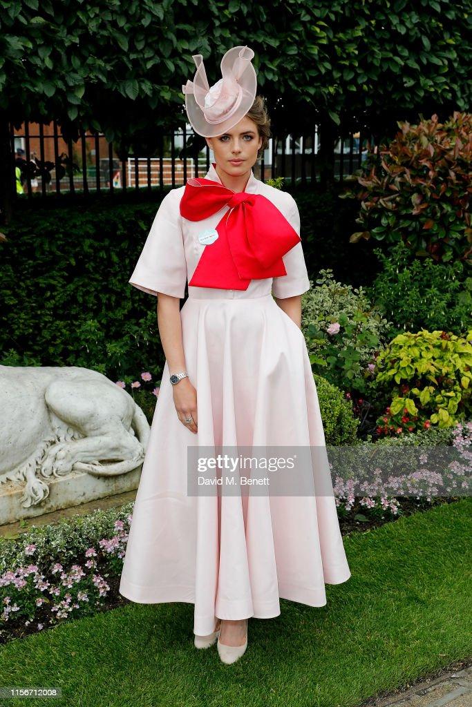 Royal Ascot 2019 - Fashion, Day 1 : News Photo